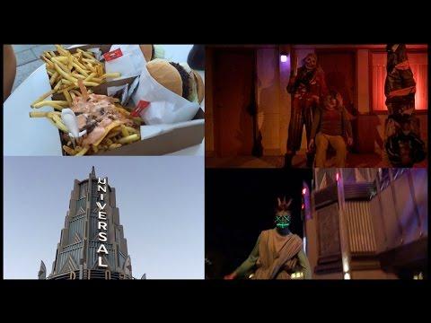 Halloween Horror Nights 2016 + Veggie Burgers
