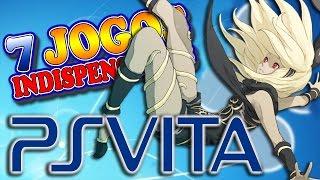 Playstation Vita - 7 Jogos Indispensáveis