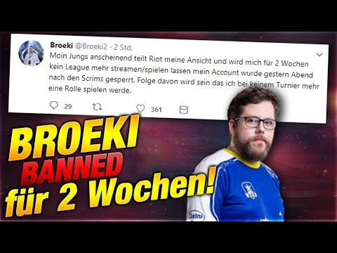 ESG Broeki BANNED für 2 Wochen! [League of Legends] thumbnail