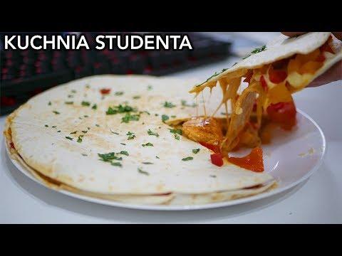 Quesadilla z kurczakiem za 9zł | Kuchnia Studenta #32
