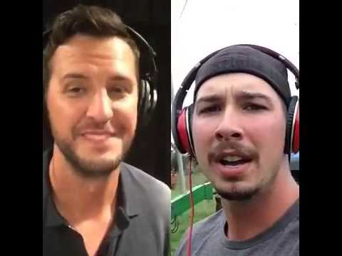 Kick the Dust Up - Luke Bryan and Brent Kelly on Smule Sing