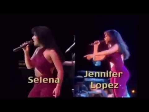 Selena & Jennifer Lopez Comparison (Si Una Vez)