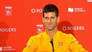 2015 Montreal: Novak Djokovic (in Serbian). Izjava za RTS nakon Polufinala.