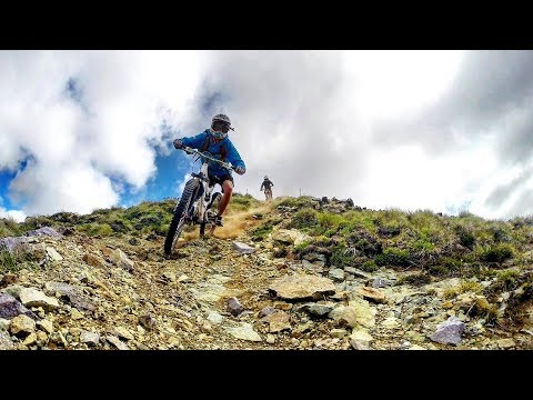 Mountain bike, dowhill - Patagonia Argentina - Cerro Catedral. Gopro hero 3+