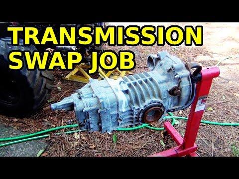 VW Sandrail Transmission Swap