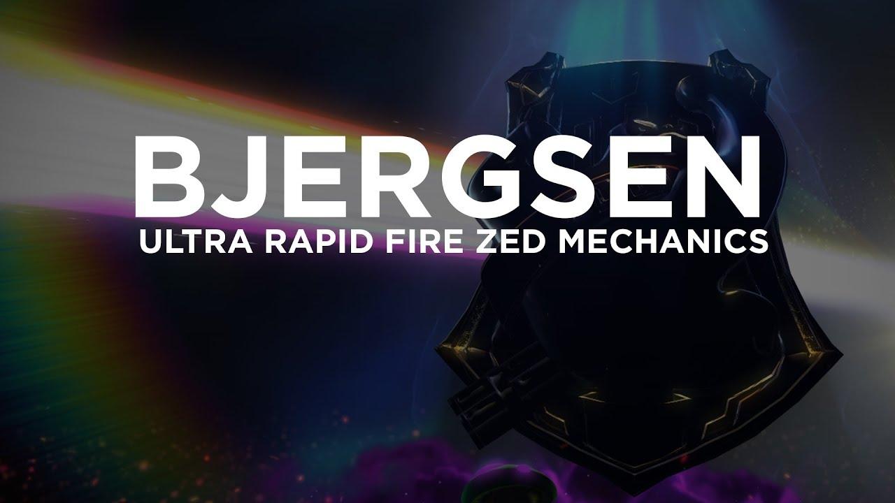 When Bjergsen plays URF - Zed/Azir - YouTube