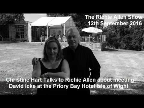 Christine Joanna Hart Former News of The World reporter Talks about Meeting David Icke.