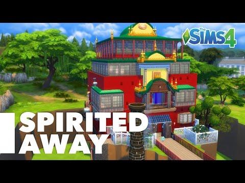 Spirited Away | Sims 4 | Bathhouse Build