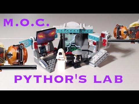 Lego Ninjago Pythor's Lab MOC