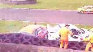 Norris evo crash @ Castle combe