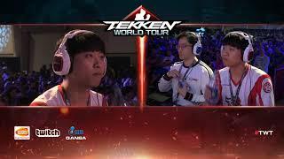 Tekken 7 - Fursan LowHigh vs ROX Knee - Combo Breaker 2018 - Top 8