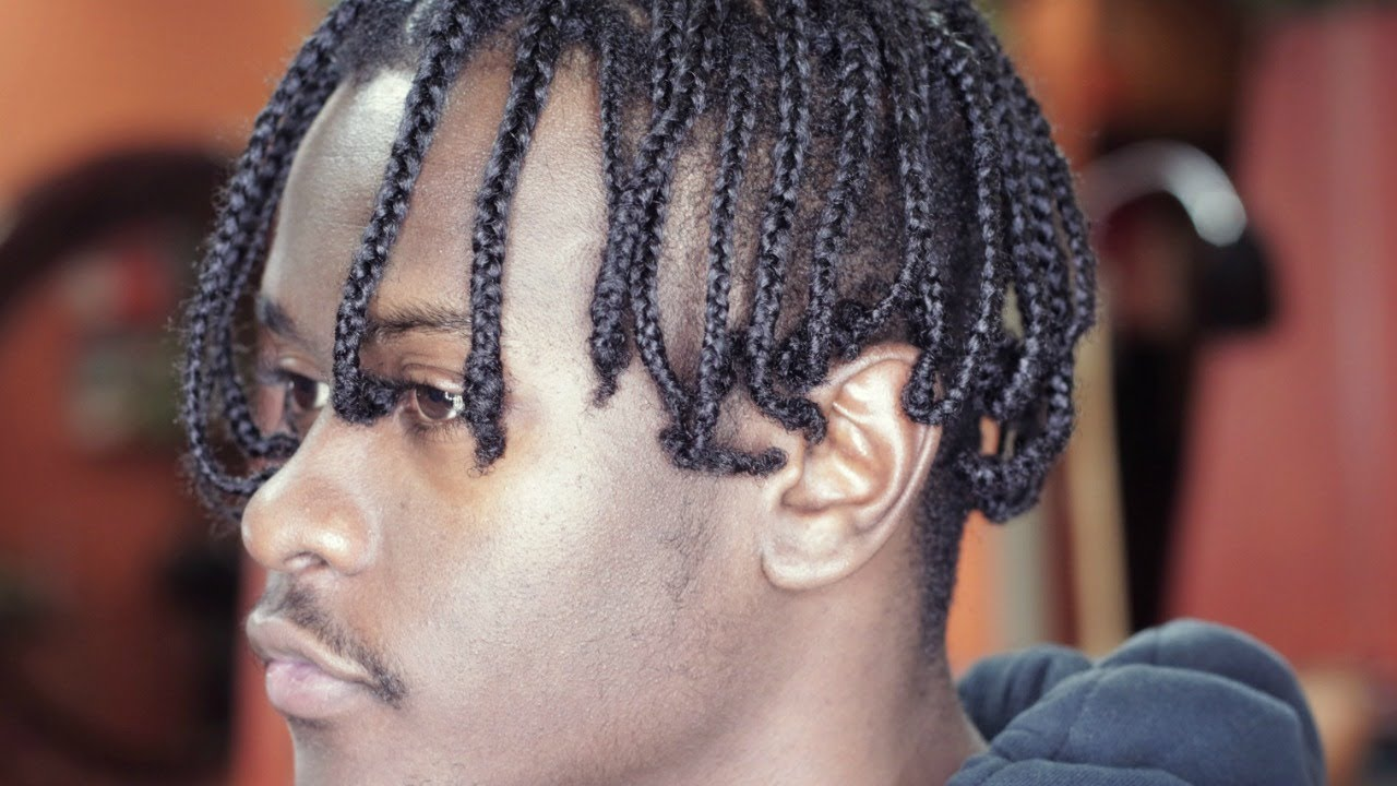 High Top Braids Men Hair Color Ideas And Styles For 2018