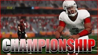 T.D. LIVE STREAMS THE JUCO CHAMPIONSHIP - DOES A.D. FOLD UNDER PRESSURE??? NCAA FOOTBALL 14 RTG