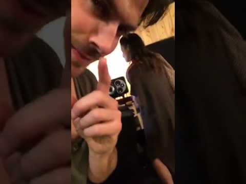 Ian Somerhalder Surprising Nikki Reed While She recording her album