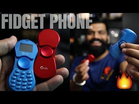 Fidget Spinner Phone Unboxing - Really Hot 🔥🔥🔥