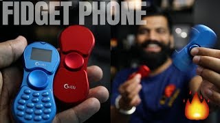 Fidget Spinner Phone Unboxing - Really Hot 🔥🔥🔥