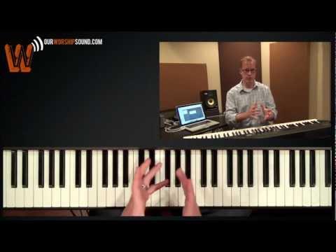 Worship keyboard tutorial: playing melodically