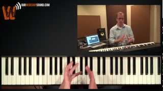 Worship keyboard tutorial: playing melodically
