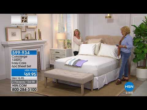 HSN | Concierge Collection Bedding 04.18.2018 - 11 PM