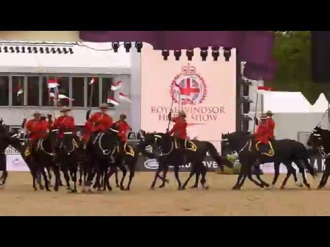 Royal Canadian Mounted Police Musical Ride  2016
