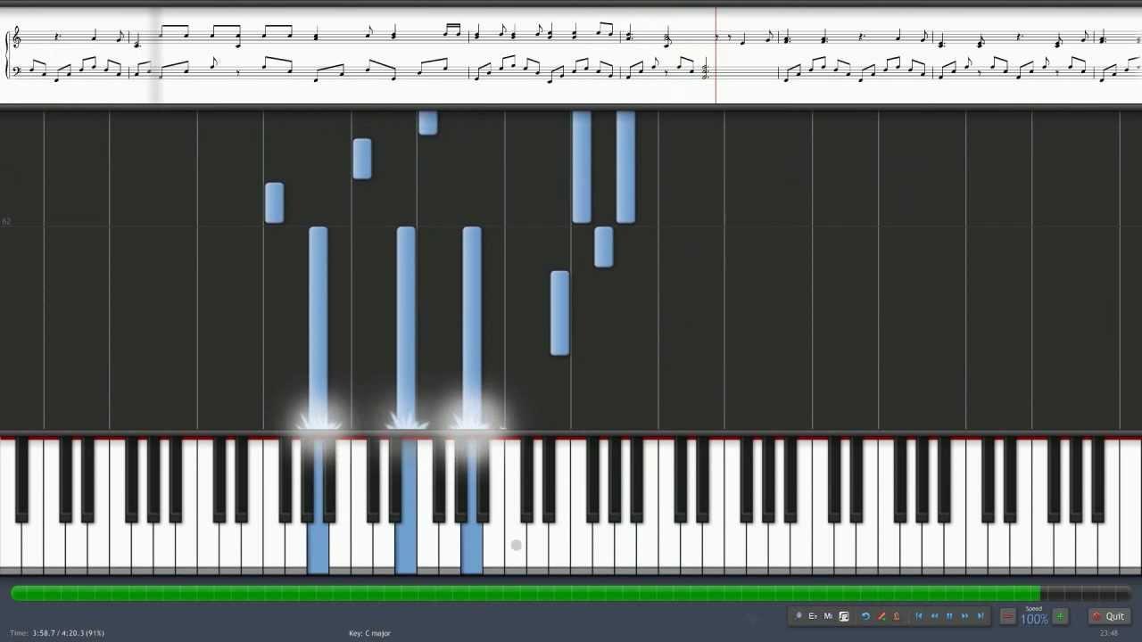 How to play Hallelujah by Rufus Wainwright / Piano ...