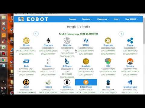 EOBOT Cloud Mining Strategy Build 3 Week Mining Power 2017