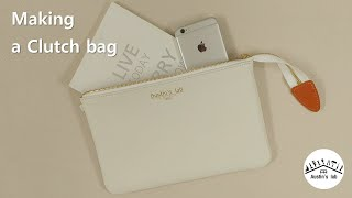 18 - Making a Clutch bag (클러치백…