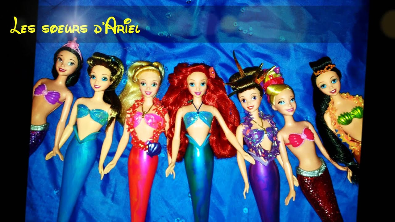 Ariels Sisters Disney Dolls Collection Soeurs
