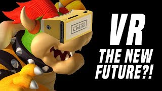 Is Switch VR The Next Big Thing? MORE GAMES Or Just Mario + Zelda?