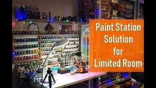 Building a DIY Mini Paint Station with HobbyZone Modular Workshop System and Ordinary Shelf