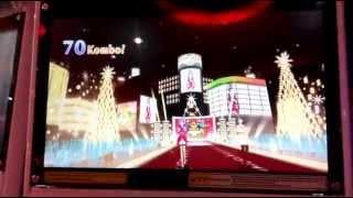 Aikatsu! Indonesia Ver. 1 Sr. 1 Gameplay - Christmas Cup Stage 1