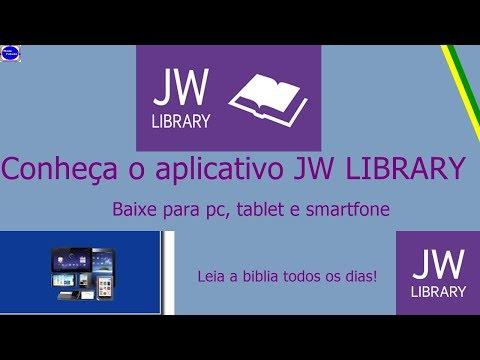 Conheça O Aplicativo Jw Library.
