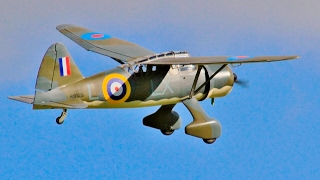 WESTLAND LYSANDER 1/5 SCALE RC SEAGULL MODELS - SAITO F60G3 3 CYL RADIAL LMA EAST KIRKBY - 2016