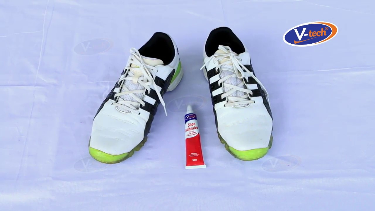8c80067b4f3c V-tech Adhesive Guide - Shoe Repair - YouTube