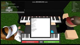 How to play Havana on ROBLOX Piano. (Sheet in Desc)