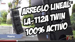 Arreglo Lineal LA-112A TWiN de ELIPSIS