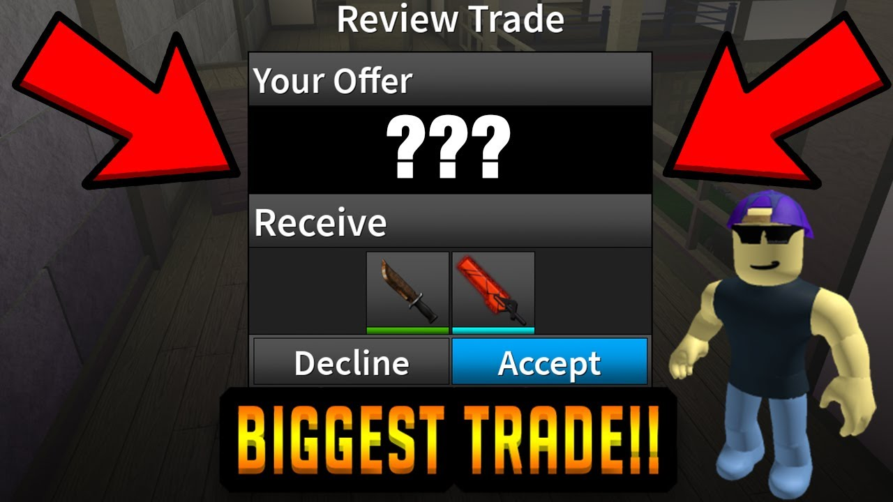 Download PRISMAN JUST TRADED ME THE RAREST KNIFE IN THE GAME... (ROBLOX ASSASSIN)