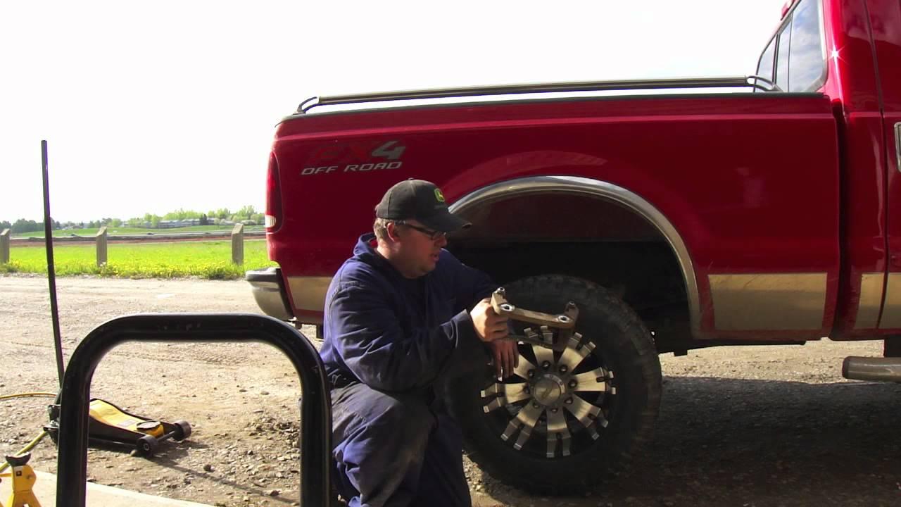 1999 ford super duty brake caliper sticking