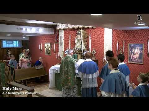 Sunday Mass: 11:30 AM EASTERN TIME (ET)