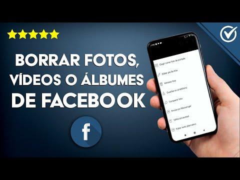 Cómo Borrar mis Fotos, Videos, Álbum o Publicaciones de Facebook Desde mi Celular