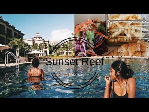 A Day At Sunset Reef Resort Mauritius Youtube