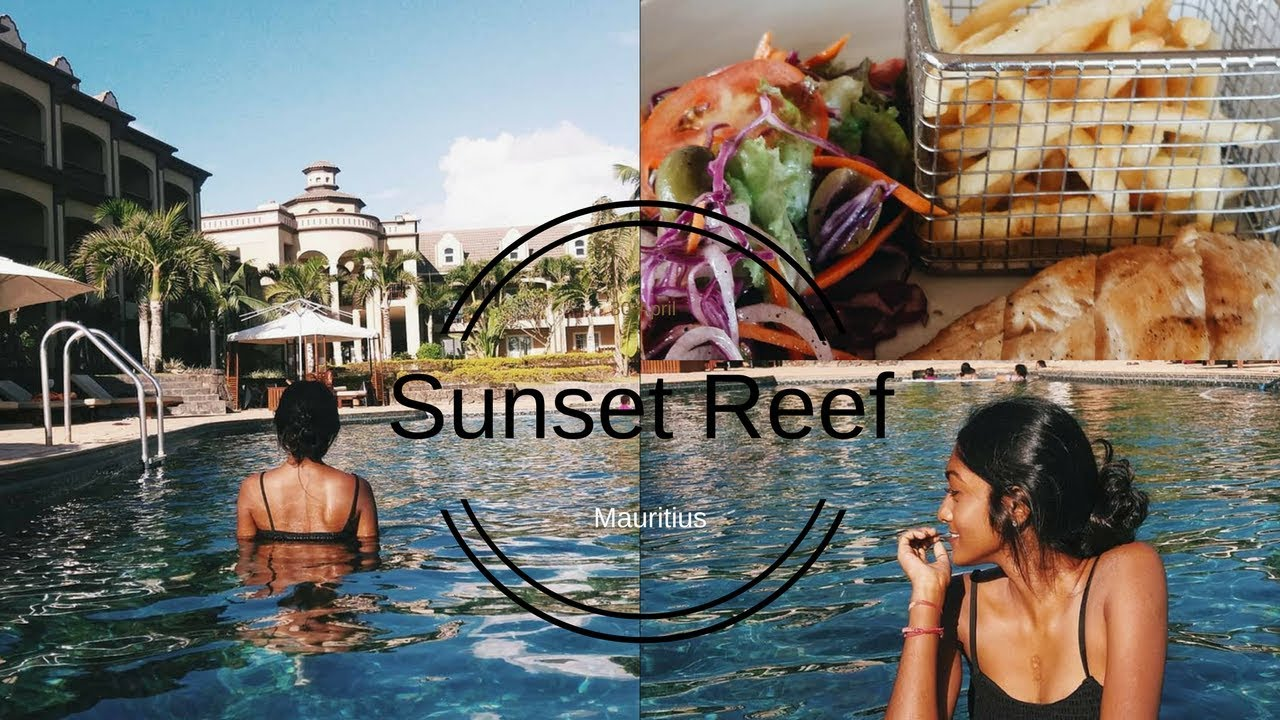 A Day At Sunset Reef Resort Mauritius