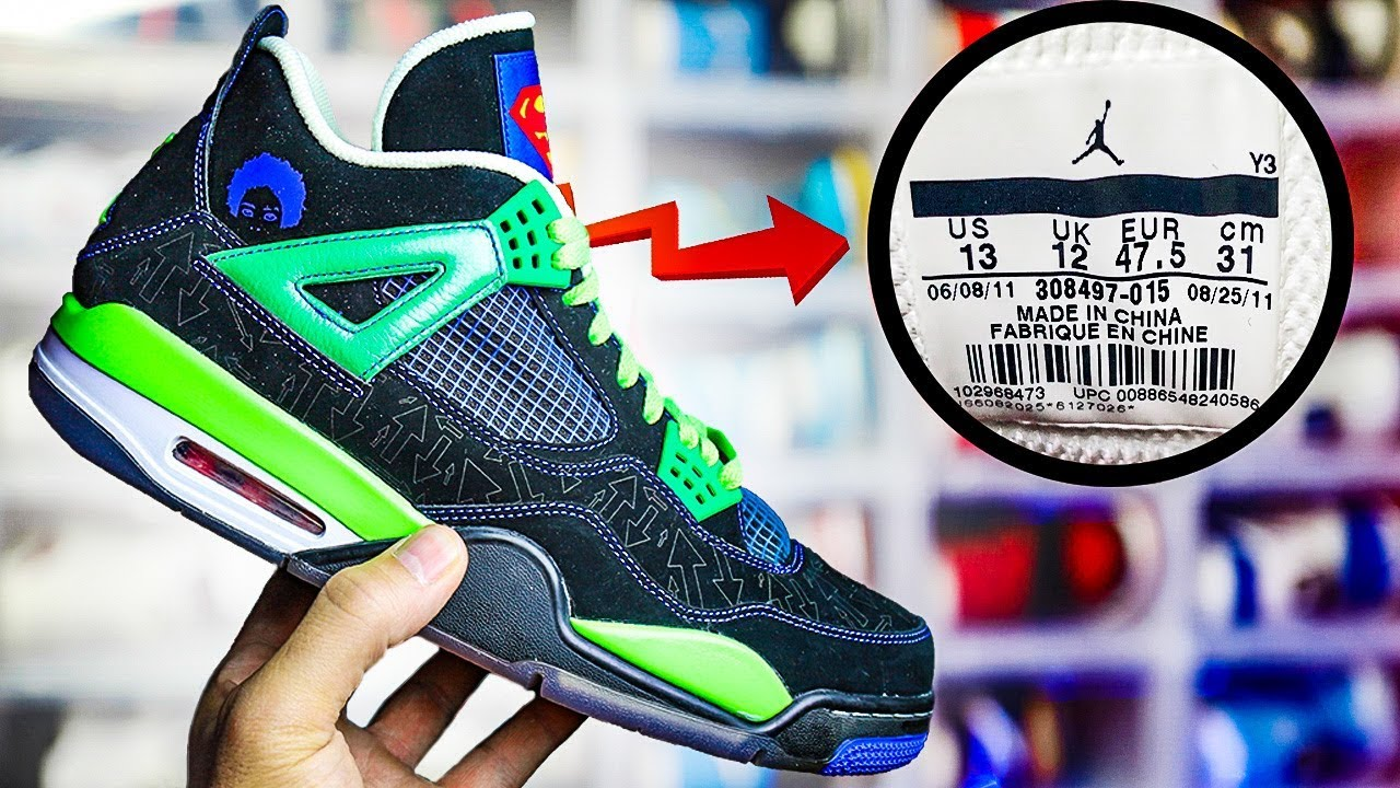How To Read Shoe Tags On Jordan Sneakers - YouTube