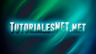 PRESENTACIÓN DE TUTORIALESNET.NET - [ 30/07/2015 ]