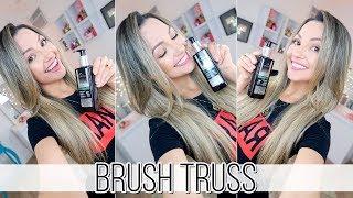 BRUSH TRUSS  + escovando o cabelo Por Bia Munstein