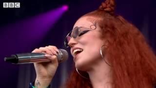 Jess Glynne  - Glastonbury 2016 - Don't Be So Hard On Yourself Video