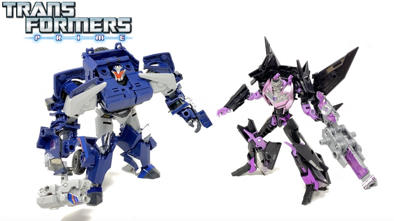 Transformers Prime War Breakdown & Jet Vehicon In-Hand Review by PrimeVsPrime