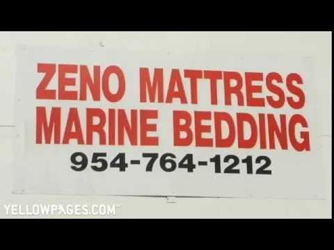 Fort Lauderdale Mattresses Zeno Mattress  Marine Bedding