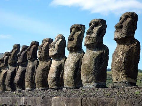 Ahu Tongariki on Easter Island  YouTube