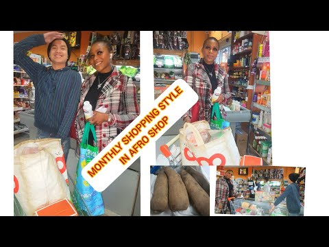 Shop with Me In Africa Supermarket  / Food & More / My List/ One Month/ Style